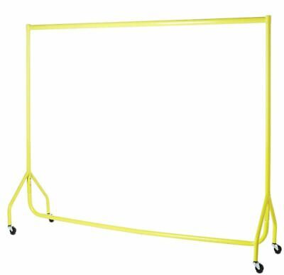 Garment Rails YELLOW HEAVY DUTY 6ft Retail Market Hanging Clothes Shop Displays❤