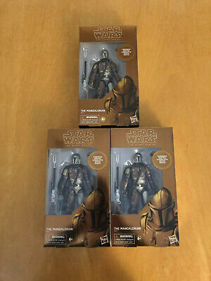 Star Wars The Black Series Carbonized Graphite The Mandalorian Figure *IN HAND*