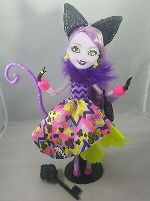 Ever After High doll Kitty Cheshire Way Too Wonderland Mattel EUC