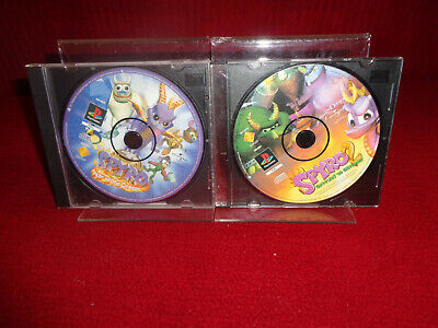 Spyro the Dragon 2 & Spyro Year of The Dragon Playstation 1 PAL - Disc's only