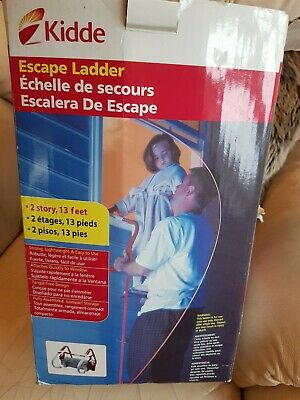 Fire Escape Ladder Approved To EN131 With Storage Bag 2 or 3 Storey 7.3 Metre