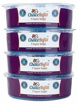 ChoiceRefill Improved Design Compatible with Litter Genie Pail - 3 Pack