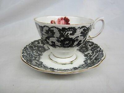 Royal Albert Senorita Tea Cup and Saucer  Some Gold Loss