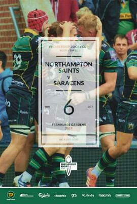 * 2019/20 - Northampton Saints Rugby Home Programmes - Choose From List *