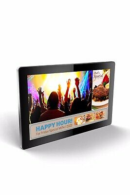 """Professional 22"""" LCD Display With High Contrast Full HD Touch Screen! Win 10!"""