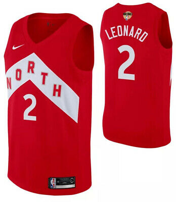 Kawhi Leonard Toronto Raptors We The North Mens Basketball Jersey Size S M L XL