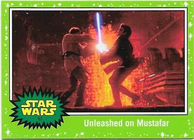 2019 Topps Star Wars Journey to The  Rise of Skywalker Green Starfield #67