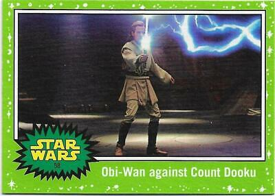 2019 Topps Star Wars Journey to The  Rise of Skywalker Green Starfield #58