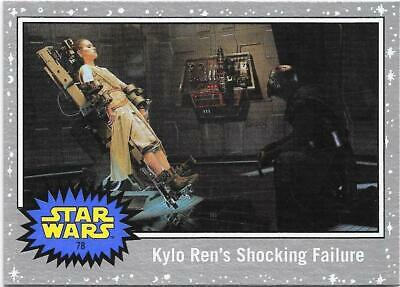 2019 Topps Star Wars Journey to The  Rise of Skywalker Silver Starfield #78