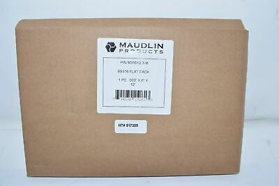 NEW MAUDLIN M31612-3-M STAINLESS STEEL SHIM SS316 .003 x 8'' x 12''