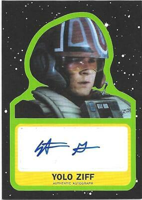 Topps Star Wars Journey to The  Rise of Skywalker Autograph Stefan Grube