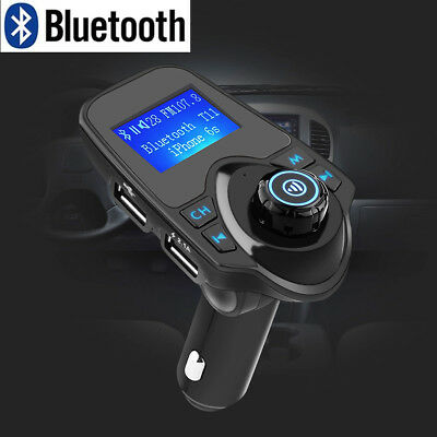 Bluetooth FM Transmitter Auto MP3 Musik Player Car 2 USB TF KFZ Freisprechanlage