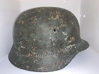 WW2 Original German Helmet - Stalingrad Find