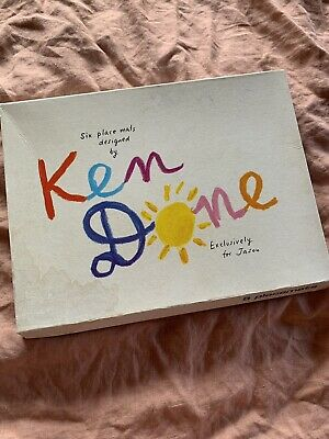 Ken Done Americas Cup Exclusive Place Mats Set Of 6