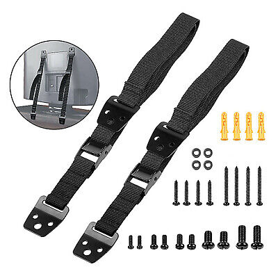 2pcs/Lot Cabinet TV Furniture Anti-Tip Straps Anchor Child Kids Safety Strap