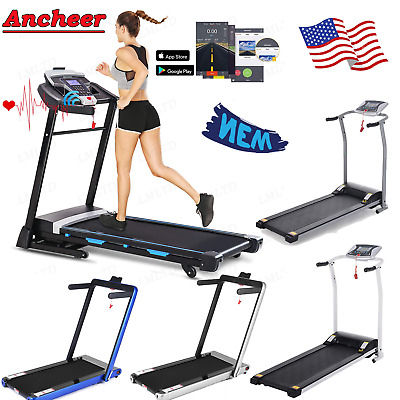 Folding Treadmill Electric 3.25HP Power Running Fitness Jogging Incline LOT