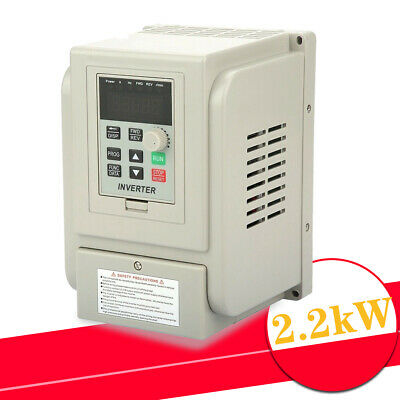220VAC 2.2kW Single Phase/3Phase VFD Variable Frequency Drive Inverter CNC Motor