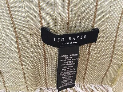 Ted Baker Men's Fine Cotton Scarf