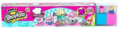 Shopkins Chef Club Season 6 Collector Case Mega Pack