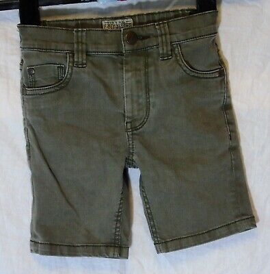 Boys Next Mid Grey Denim Adjustable Waist Jean Board Shorts Age 4 Years