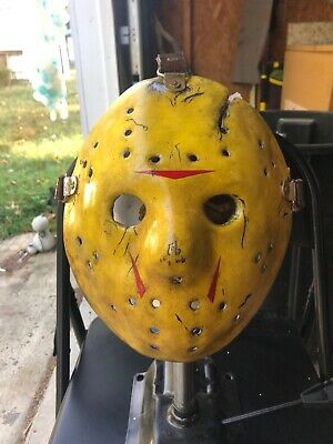 Jason Voorhees Hockey Mask Part 8 (VIII) Screen Accurate Friday The 13th