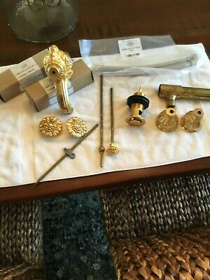 Stunning 24k gold and bronze Sherle Wagner faucet. Completely refurbished!