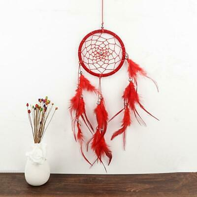 New Handmade Dream Catcher Net Hanging Home Car Decoration Decor Red