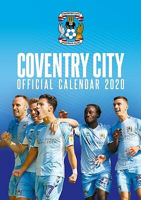 Calendar Coventry City FC Official A3 2020 Football Soccer Wall Decoration