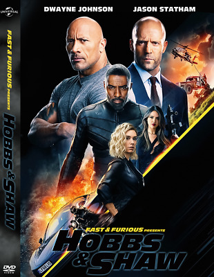 Fast And Furious Presents: Hobbs And Shaw DVD Order Now