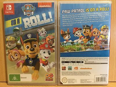 Paw Patrol On a Roll Nintendo Switch AUS SEALED EXPRESS