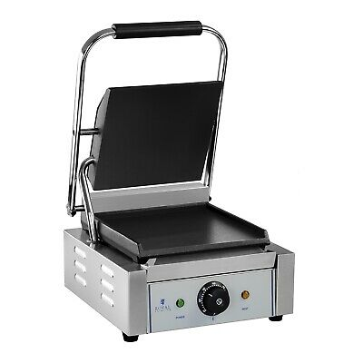 Contact Grill Gastro Hot Sandwich Maker Energy Efficient 1800W With Drip Tray