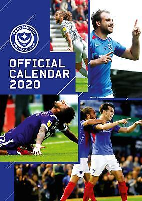 Calendar Portsmouth FC 2020 A3 Official Football Soccer Decoration Gift