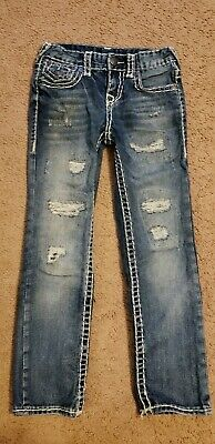 True Religion Boys Geno Super T Jeans, Size 7