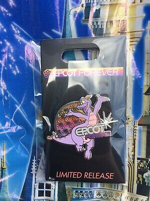 Disney Epcot Forever Fireworks Spectacular Figment Pin LE In Hand