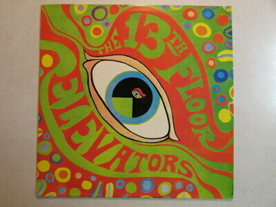 13th FLOOR ELEVATORS S/T SELFTITLED 1979 REISSUE STEREO LP 1A -LP-1 GARAGE PSYCH