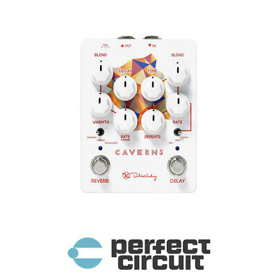 Keeley Caverns V2 Delay + Reverb Pedal EFFECTS - NEW - PERFECT CIRCUIT