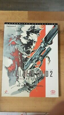 Guide officiel METAL GEAR SOLID 2 SONS OF LIBERTY PlayStation 2 Piggyback versio
