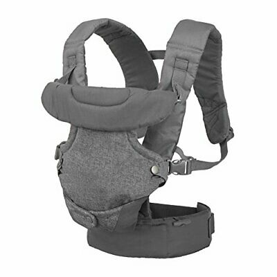 Infantino  (200-183) Flip Advanced 4-in-1 Convertible Carrier, Light Grey