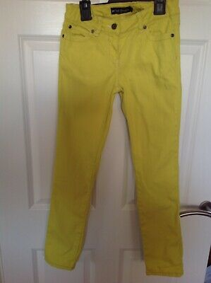 Mini boden Girl's Jeans, Age 12, Yellow