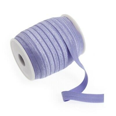 Fold Over Elastic - 16mm - Lilac - Per Metre