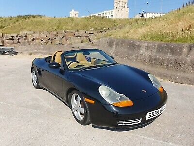 Porsche Boxster, 986, 2.7, Low Milage 29K, Fsh, Super Condition, Black On Tan