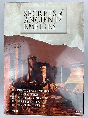 Secrets of Ancient Empires 5 DVD Boxed Set Produced By Kultur BRAND NEW SEALED!