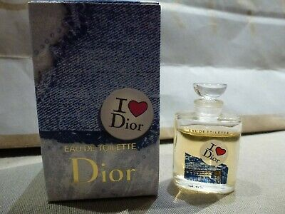 Rare miniature DIOR I love Dior EDT 5 ml