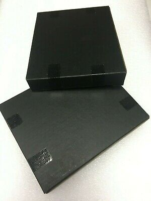 "Shipping Boxes Black CD Mailer Antistatic cardboard 6.5"" x 5"" x 1"" 100 pcs"