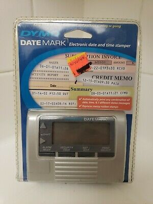 Used Dymo Datemark Electronic Date Time Stamper Free S H