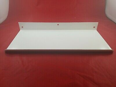 Vintage White Porcelain Bathroom Wall Mount Shelf Never Used  Lot(730-61)vc