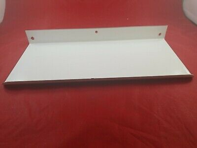 Vintage White Porcelain Bathroom Wall Mount Shelf Never Used  Lot(730-57)vc