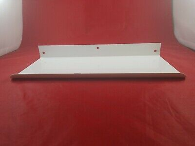 Vintage White Porcelain Bathroom Wall Mount Shelf Never Used  Lot(730-55)vc