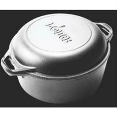 Lodge Mfg Co Dutch Oven Double 5 Qt High Quality and Durable Kitchenware