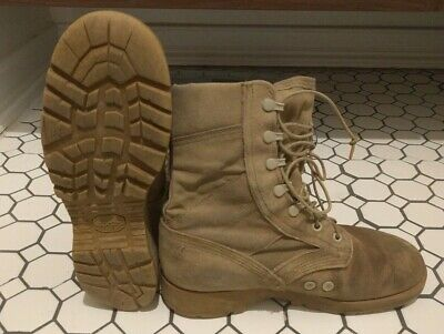Genuine US Army Military Combat Hiking Warm/Wet Weather Boots - Size 8W